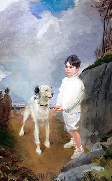 Lane Lovell and His Dog HTG